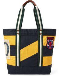 91e1dc072e Lyst - Polo Ralph Lauren Team Usa Nylon Duffel Bag in Black for Men