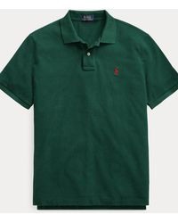 Polo Ralph Lauren Slim-Fit Polohemd aus Piqué - Grün