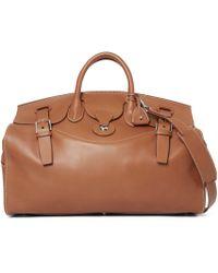 f0d55c55c4 Ralph Lauren Herringbone Duffel Bag in Brown for Men - Lyst