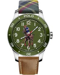 Ralph Lauren - Polo Watch Green Dial - Lyst