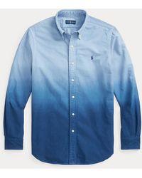 Polo Ralph Lauren - Camisa Oxford Teñida Classic Fit - Lyst