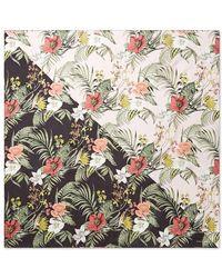 Rebecca Minkoff Tropical Splice Silk Square - Multicolour