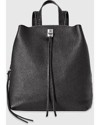 Rebecca Minkoff Darren Medium Backpack - Black