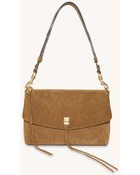 Rebecca Minkoff Darren Top Zip Shoulder Bag - Multicolor