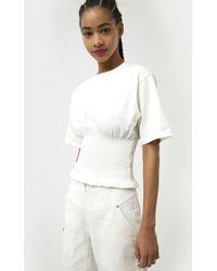 Rebecca Minkoff Clio Top - White