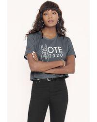 Rebecca Minkoff Vote Tee - Blue