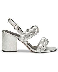 Rebecca Minkoff Candance Sandal - Metallic