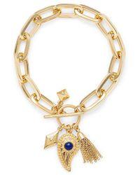 Rebecca Minkoff - Perfect Chain Paisley Bracelet - Lyst