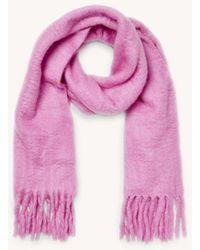 Rebecca Minkoff Woven Blanket Scarf - Pink