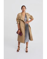 Rebecca Minkoff Anderson Coat - Natural