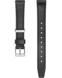 Rebecca Minkoff Silver Tone Leather Strap, 14mm - Multicolour