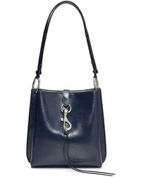 Rebecca Minkoff Megan Small Feed Bag - Blue
