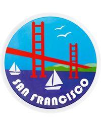 Rebecca Minkoff - Travel Sticker San Francisco - Lyst