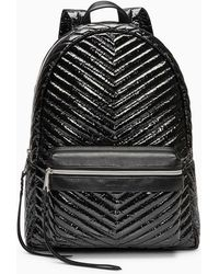 Rebecca Minkoff - Pippa Large Backpack (silver) Backpack Bags - Lyst
