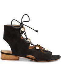 43e2e22a053 Lyst - Rebecca Minkoff Kayleigh Slide Sandal in Black