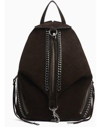 Rebecca Minkoff Julian Backpack With Chain Inset - Black