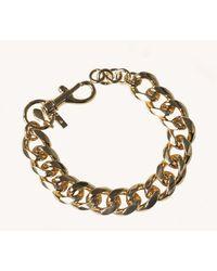Rebecca Minkoff Curb Chain Bracelet - Metallic