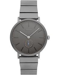 Rebecca Minkoff - Norrebro Grey Tone Bracelet Watch, 40mm - Lyst