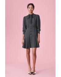 Rebecca Taylor - Sprinkle Dot Silk Dress - Lyst