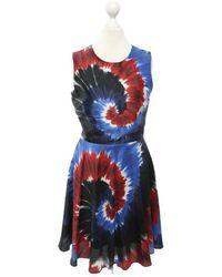 Rodarte Kleid aus Seide - Blau