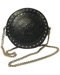 Balmain Umhängetasche aus Leder - Schwarz