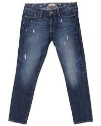 PAIGE Jeans aus Baumwolle - Blau