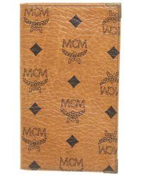 MCM Täschchen/Portemonnaie aus Canvas - Braun