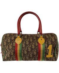 Dior Handtasche aus Canvas - Braun