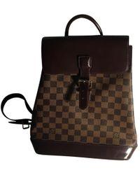 Louis Vuitton Soho Backpack - Braun