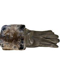 Roeckl Sports Handschuhe aus Leder - Mehrfarbig