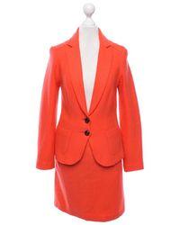 Marc Cain Anzug aus Wolle - Orange