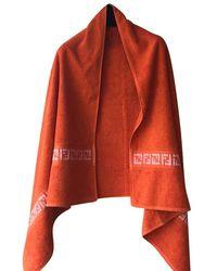 Fendi Handtuch - Orange