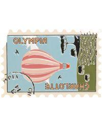 Charlotte Olympia Clutch - Blau