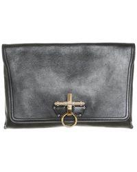 Givenchy Obsedia aus Leder - Schwarz