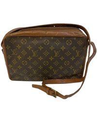 Louis Vuitton Sac Bandouliere aus Canvas - Braun