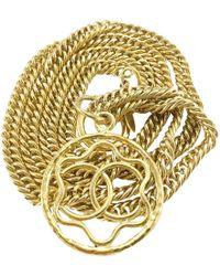 Chanel Halskette - Mettallic
