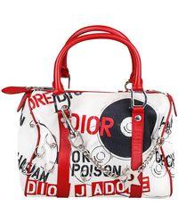 Dior Handtasche aus Baumwolle - Rot