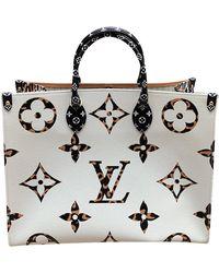 Louis Vuitton Onthego aus Canvas - Schwarz