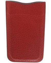 Burberry Handytasche mit Außenfach - Rot