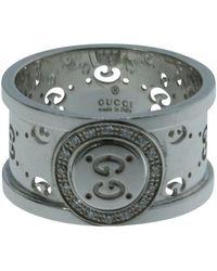 Gucci Ring aus Weißgold - Mettallic