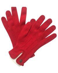 Hermès Handschuhe - Rot