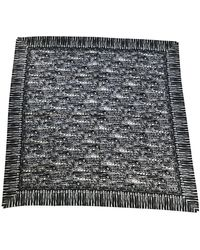 Chanel Schal/Tuch aus Seide - Mehrfarbig