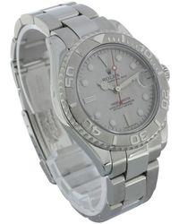 Rolex Armbanduhr aus Stahl - Grau