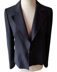 Armani Anzug aus Wolle - Blau