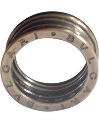 BVLGARI Ring aus Weißgold