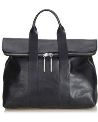 3.1 Phillip Lim Handtasche aus Leder - Schwarz