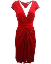 Issa Cocktail-Kleid - Rot
