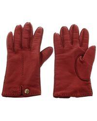 Roeckl Sports Handschuhe aus Leder - Rot