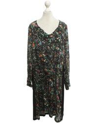 Zadig & Voltaire Kleid mit floralem Muster - Mehrfarbig