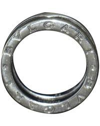 BVLGARI Ring aus Silber - Schwarz